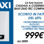BAXI_CALDAIA_DUOTEC_SCONTO_IN_FATTURA_ROMA